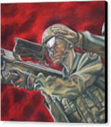 Stinger Dedication Canvas Print by Erin Smith