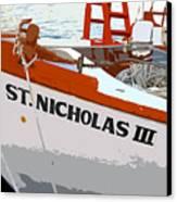 St.nicholas Three Canvas Print