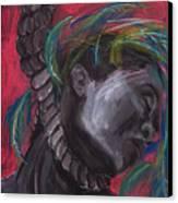 Stolen Resource Canvas Print by Gabrielle Wilson-Sealy