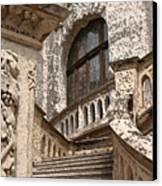 Stone Buildings In Majestic Monaco Canvas Print