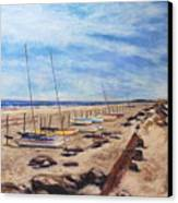 Stone Harbor Canvas Print by Joyce A Guariglia