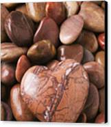 Stone Heart Canvas Print by Garry Gay