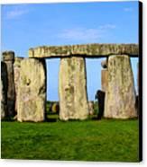 Stonehenge No 2 Canvas Print