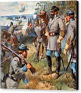 Stonewall Jackson, 1861 Canvas Print by Granger
