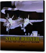 Stoofdriver Cover Canvas Print