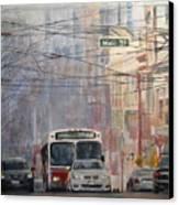 Stop Light Canvas Print