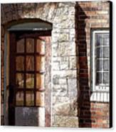 Storage Door Canvas Print