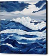 Storm At Sea Canvas Print