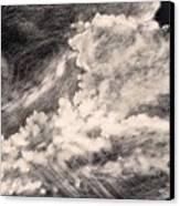 Storm Clouds 2 Canvas Print by Elizabeth Lane
