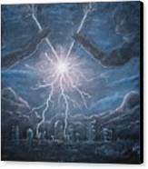 Storm Games Canvas Print
