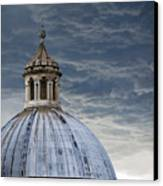 Storm Over Siena Canvas Print