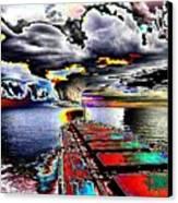 Storm Warning Canvas Print