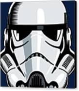 Stormtrooper Canvas Print by IKONOGRAPHI Art and Design