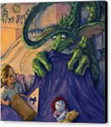 Story Time Canvas Print by Michael Orwick