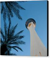 Stratosphere Tower Canvas Print by Andy Smy