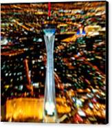 Stratosphere Zoom Canvas Print