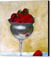 Strawberry Feast Canvas Print