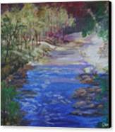 Stream At Yosemite Canvas Print