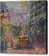 Street Peddler - Kl Chinatown Canvas Print