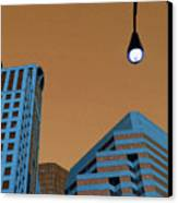 Street View Canvas Print by Karol Livote