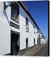 Streets Of Ribeira Grande Canvas Print