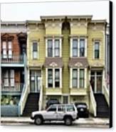 Streets Of San Francisco Canvas Print