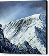 Striding Edge On Helvellin Canvas Print
