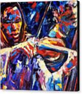 Strings Of Jazz Canvas Print