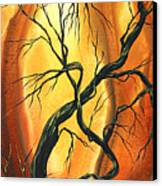 Striving To Be The Best By Madart Canvas Print by Megan Duncanson