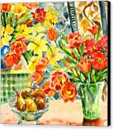 Studio Still Life Canvas Print