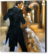 Study For Last Dance 2 Canvas Print