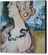 Study Of Vespuccia Canvas Print