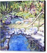 Sublime Pools  Canvas Print by M Schaefer