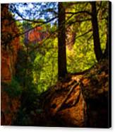 Subway Forest Canvas Print