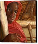 Sudanese Girl Canvas Print