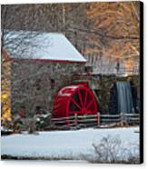 Sudbury Gristmill Canvas Print by Susan Cole Kelly