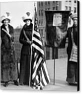 Suffragettes, C1910 Canvas Print
