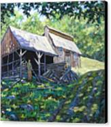 Sugar Shack In July Canvas Print