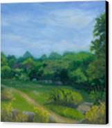 Summer Afternoon At Ashlawn Farm Canvas Print