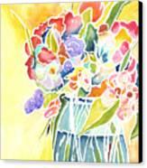 Summer Blooms Canvas Print by Carolyn Weir