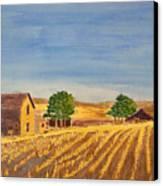 Summer Farm Canvas Print