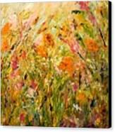 Summer Garden Canvas Print by Barbara Pirkle
