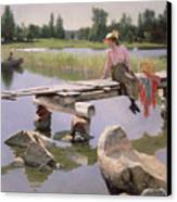 Summer Canvas Print by Gunnar Berndtson