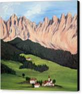 Summer In Switzerland Canvas Print