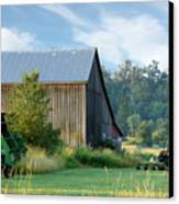 Summer On The Farm Canvas Print by Barbara  White