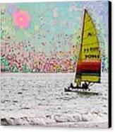 Summer Sailin Canvas Print
