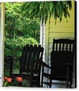 Summer Sitting Canvas Print