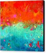 Summer Sky Canvas Print