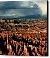 Summer Storm At Bryce Canyon National Park Canvas Print