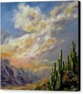 Summer Sunrise Canvas Print